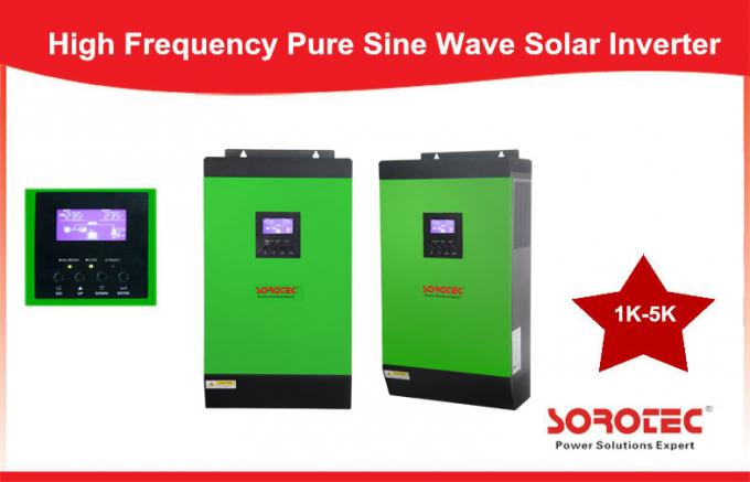 Wall Mounted Integrated Pure Sine Wave 1-5KVA Solar Power Inverters