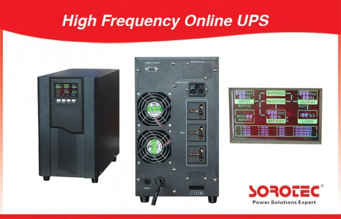 Stable High Frequency Online UPS , double conversion ups Advanced Parallel Technology