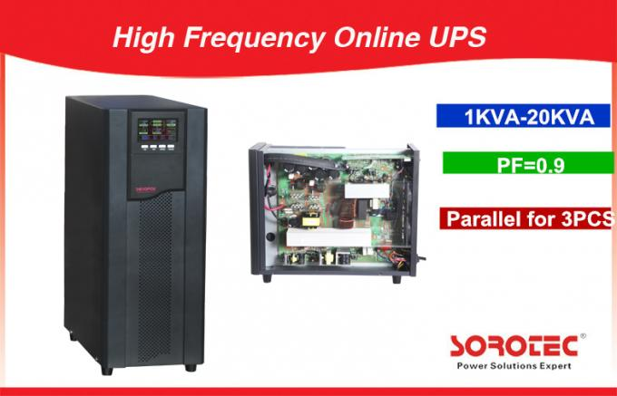 High Flexible Extendable 1KVA - 20KVA High Frequency Online UPS