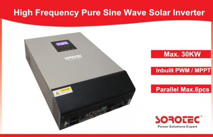 Pure Sine Wave Roller Solar Power Inverters Overload And Short Circuit Protection
