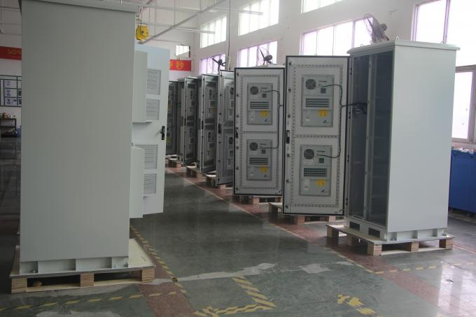 High Efficiency Outdoor Battery Cabinets with Protection Degree IP55