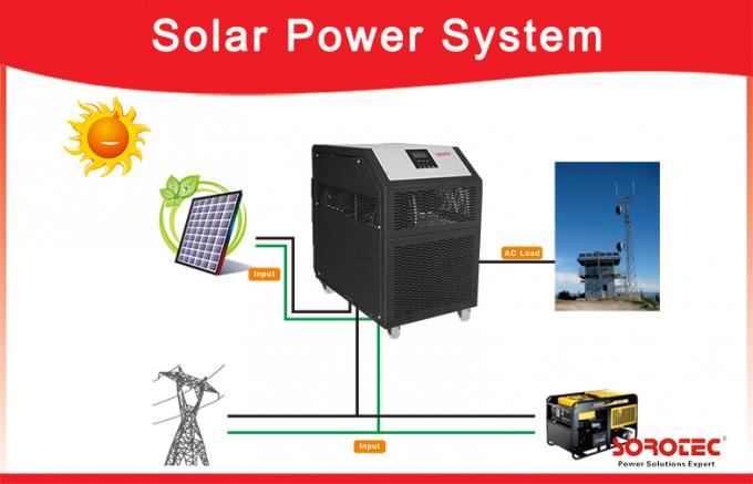 230VAC 3kW Off Grid Solar Power Systems ,  48V Solar Power Inverter Built-in Battery / Transformer