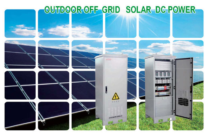 50A Hybrid Solar Power System 48V DC Power Supply with hot swappable module structure,Remote Monitoring System Interface