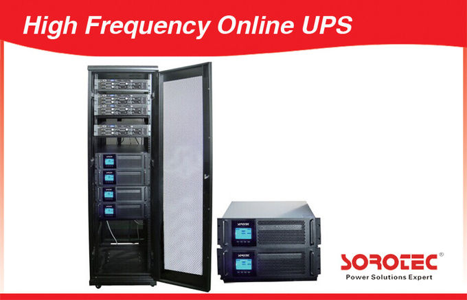 10KVA~800KVA Three Phase Modular UPS High Frequency Online UPS with Monitoring System